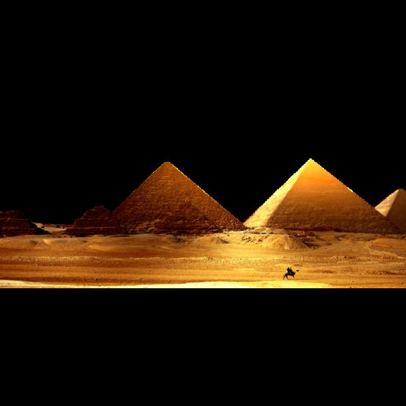 Pyramids - Egypt PNG Image