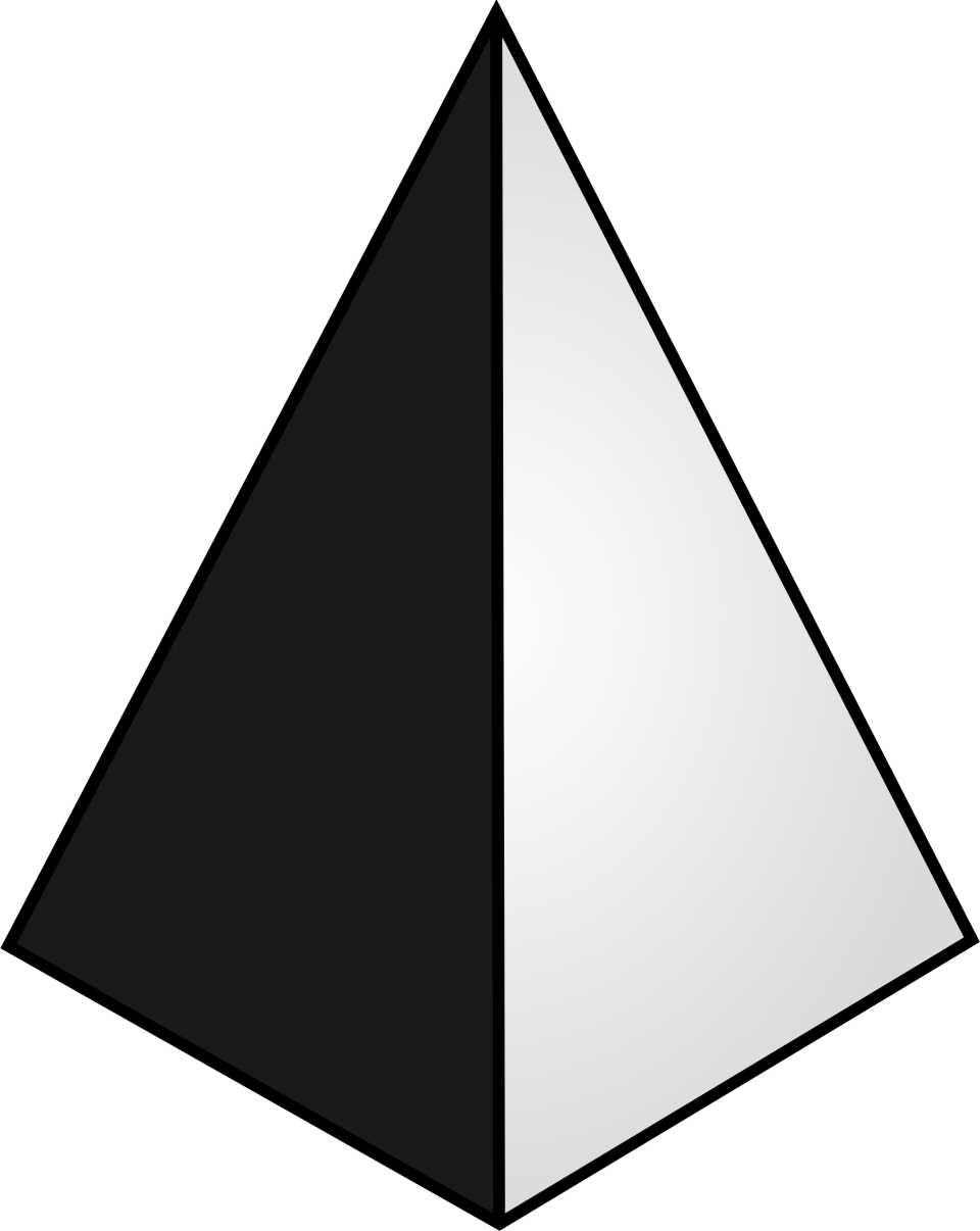Pyramid Shape PNG Image