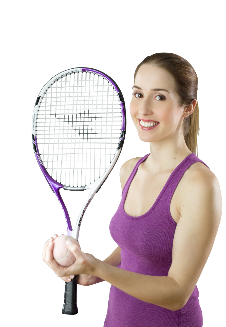 Female Tennis Player PNG Image