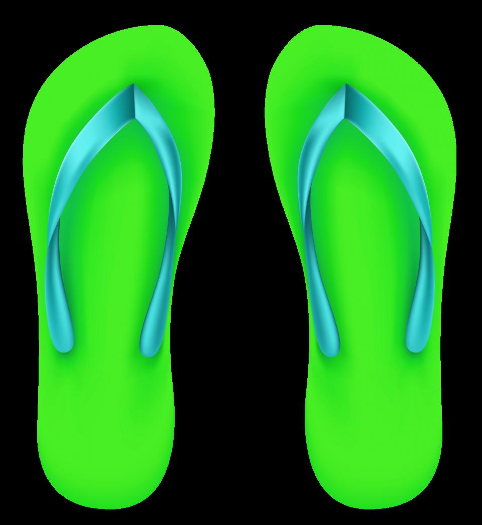 Flip Flop Sandals PNG Image