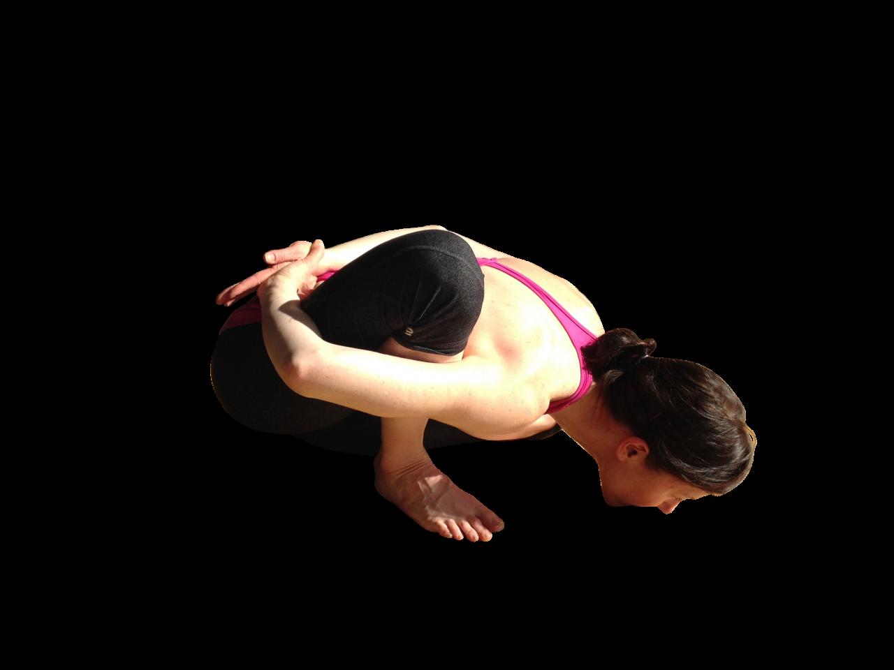 Girl doing Yoga PNG Image
