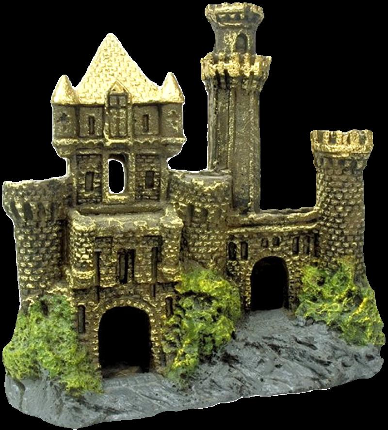Artist Impression - Golden Castle PNG Image