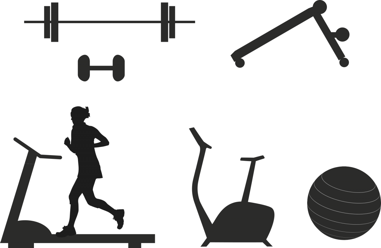 Gym Equipments PNG Image