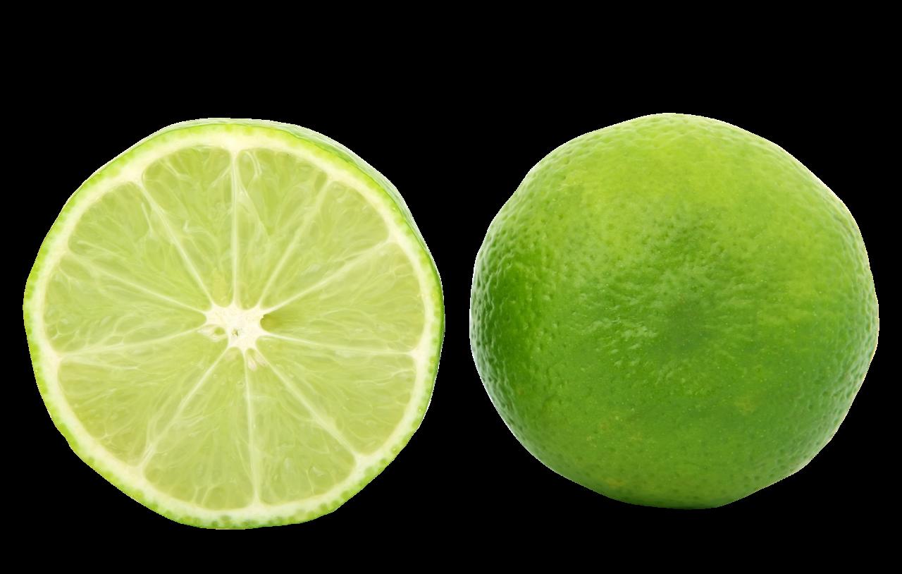 Half Cut Lemon PNG Image