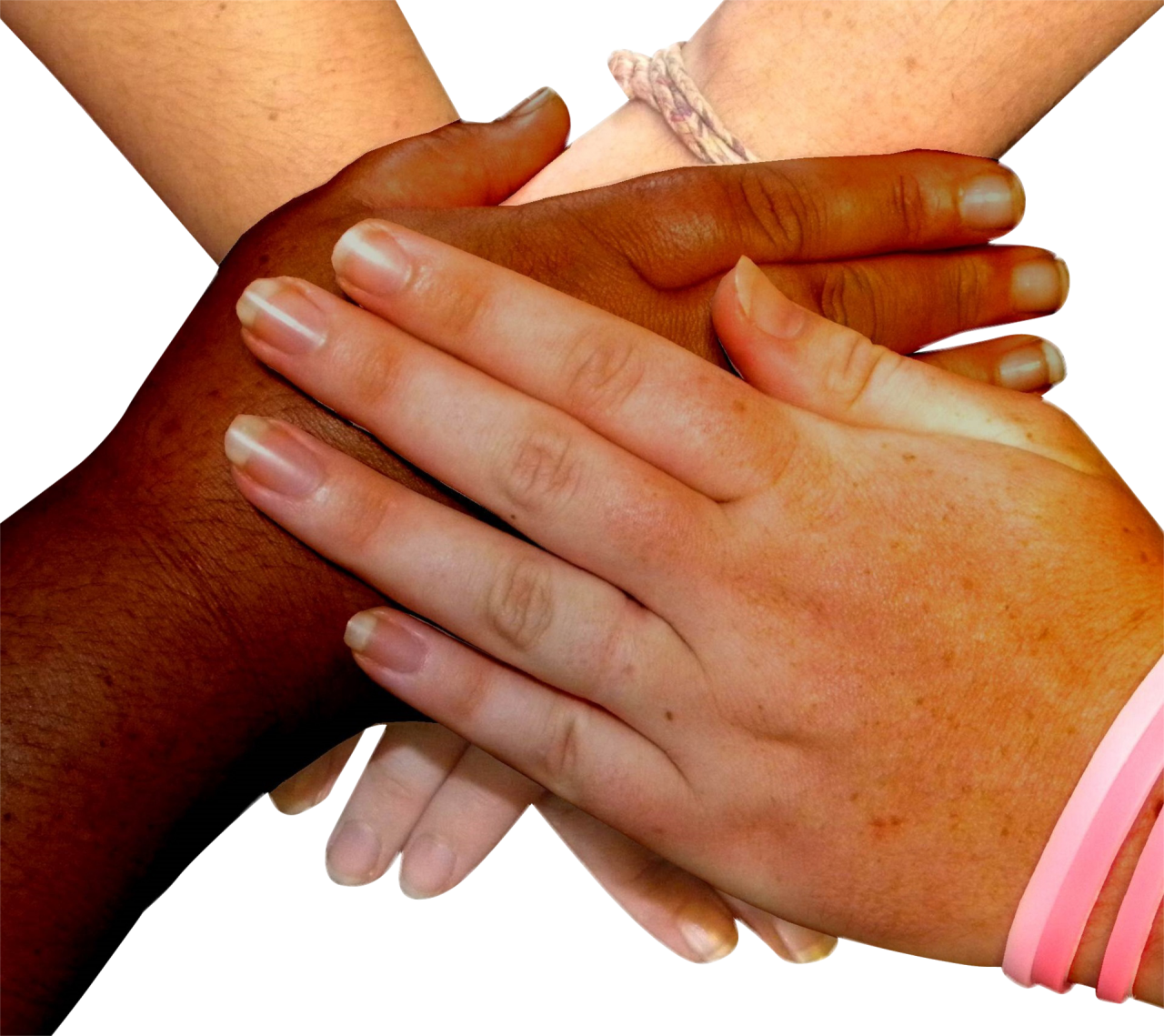 Hands on Hand PNG Image