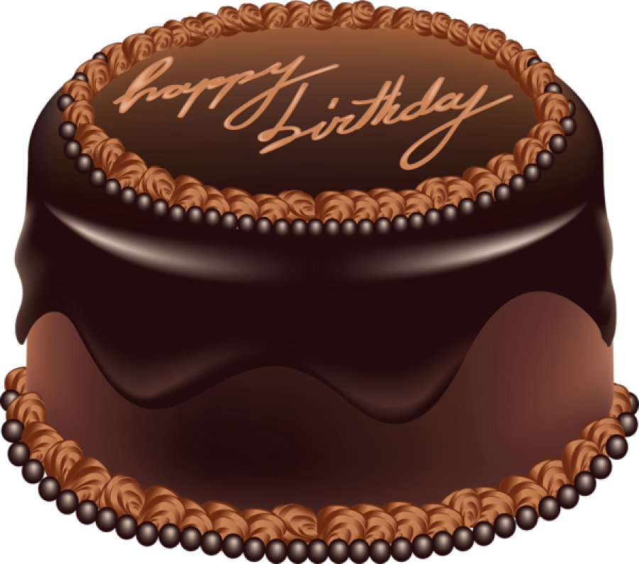 Marvelous Happy Birthday Chocolate Cake Png Image Purepng Free Birthday Cards Printable Opercafe Filternl