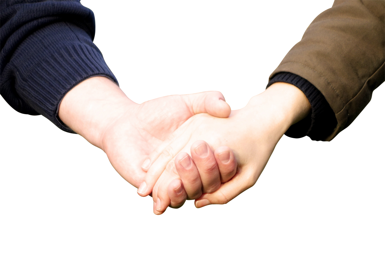 Holding Hands PNG Image