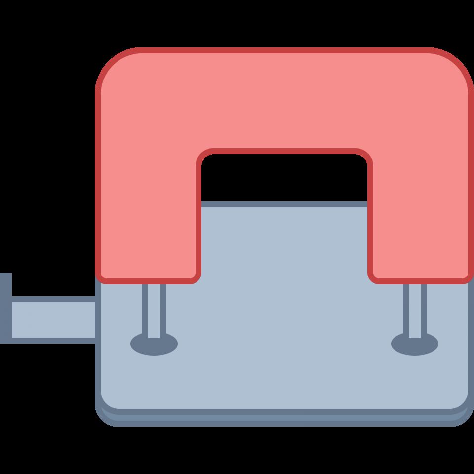 Hole Punching Machine PNG Image