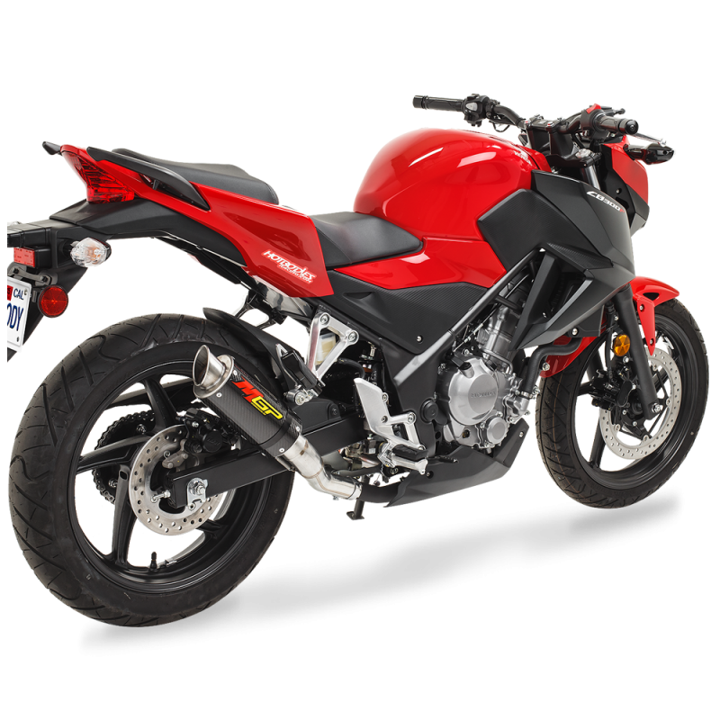 Honda CB300R 2019 White Red PNG Image