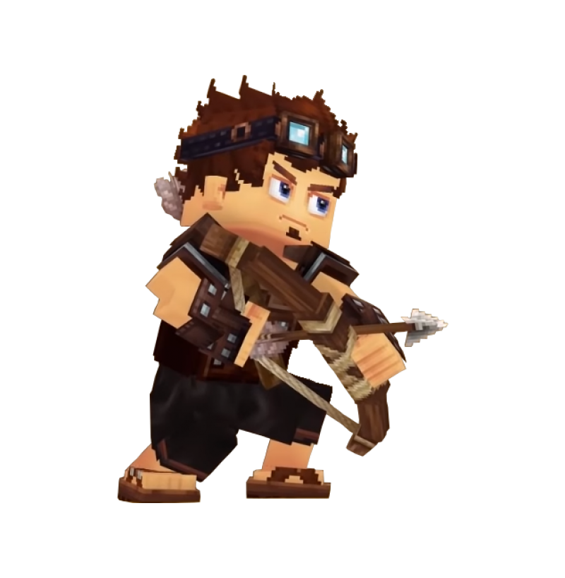 Hytale Character PNG Image