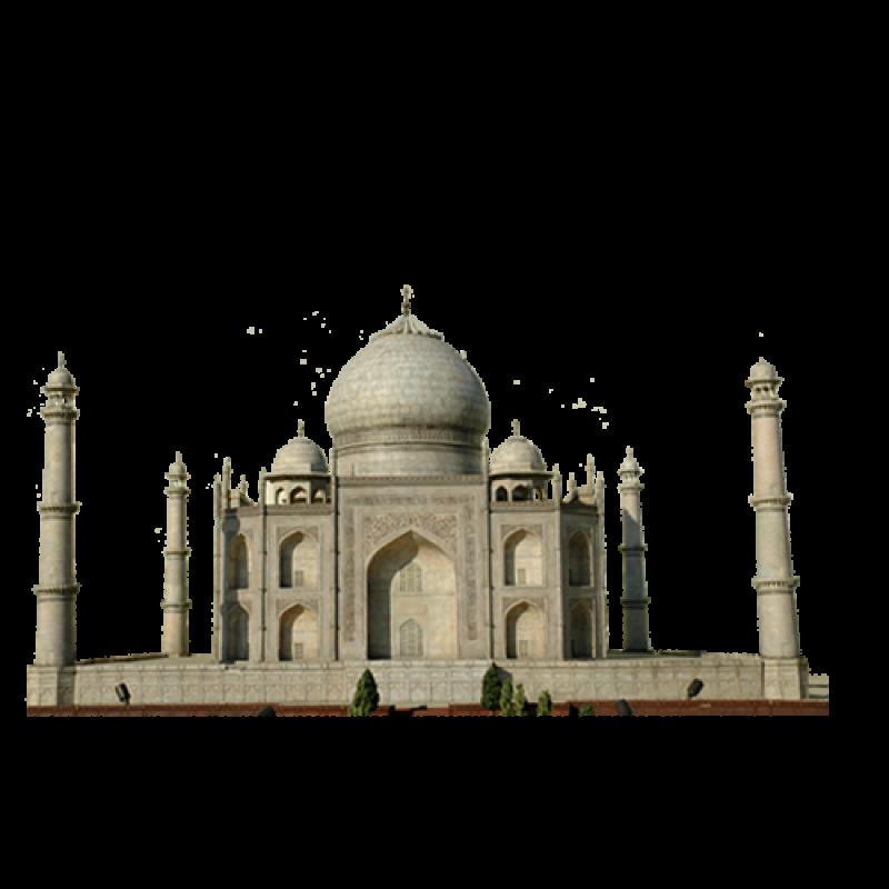 Landmark Building in India PNG Image