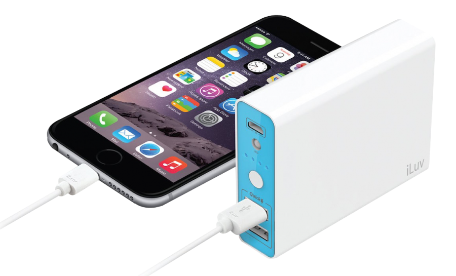 iPhone Power Bank Charger PNG Image