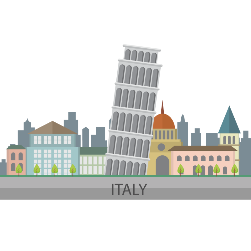 Artist Impression of Italy PNG Image