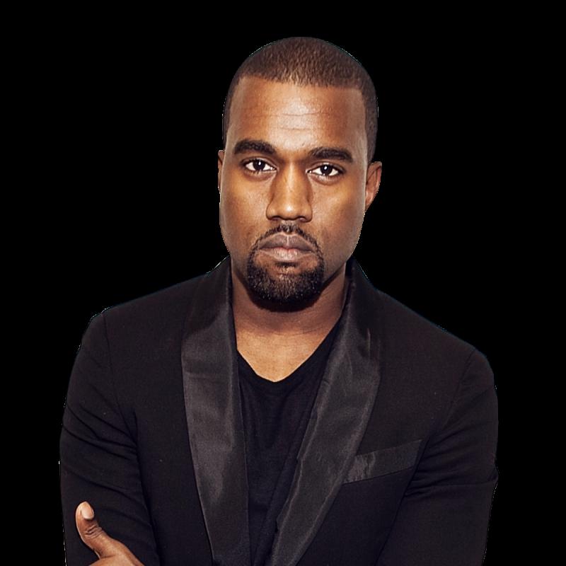 Kanye West Suit PNG Image