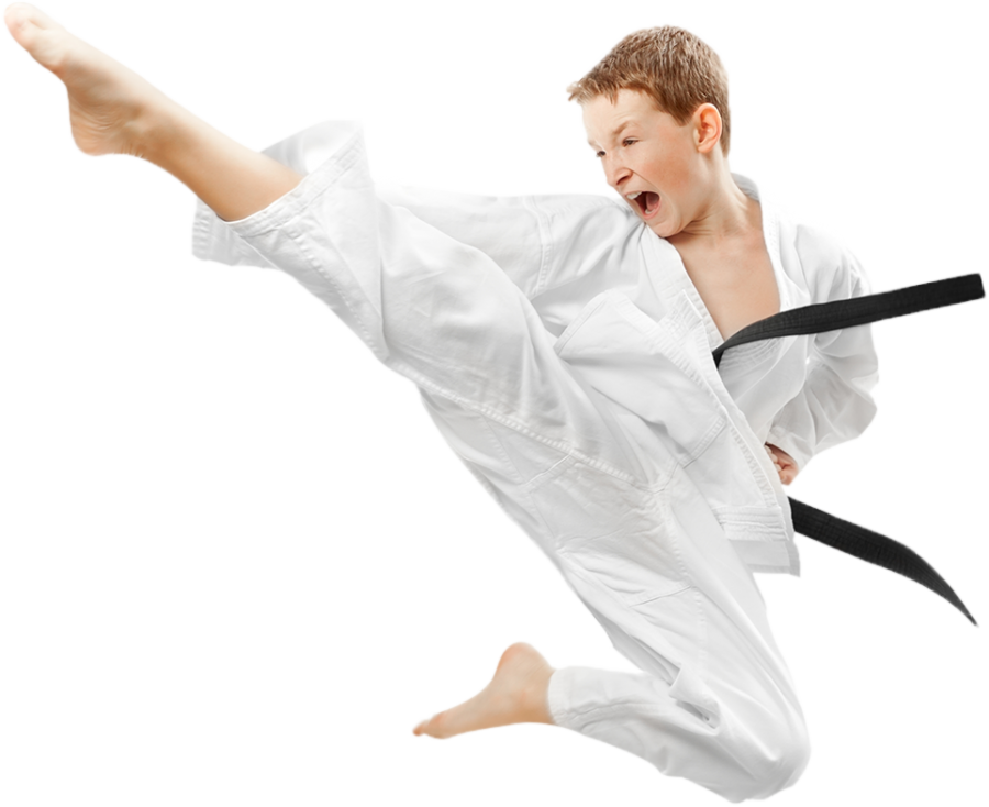 Karate Boy PNG Image