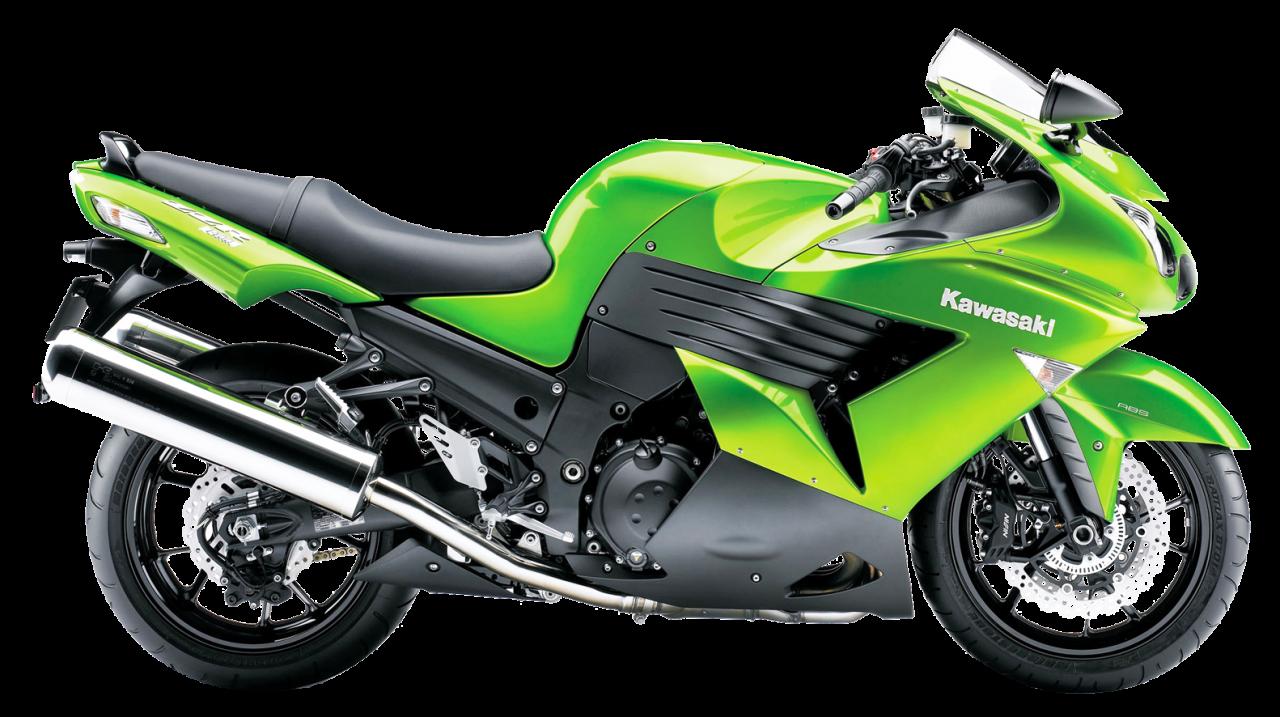 Kawasaki Heavy Sports Bike PNG Image