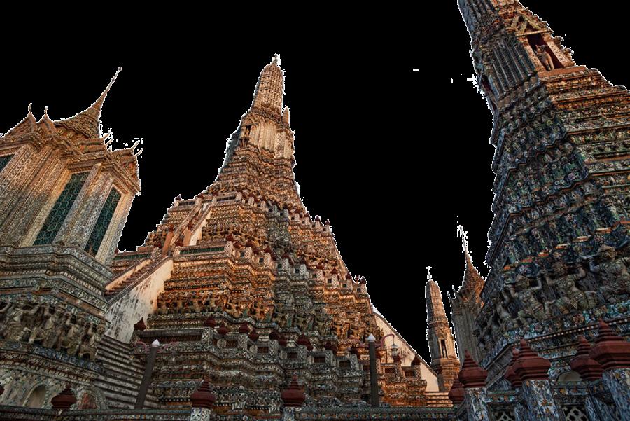 Interesting Architecture - Landmark Buildings PNG Image