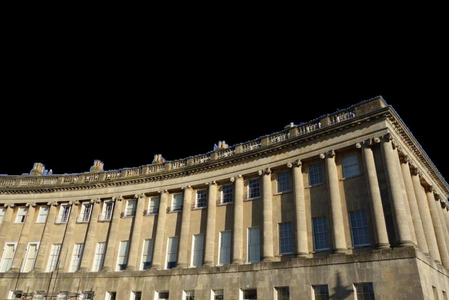 Landmark Building in France PNG Image