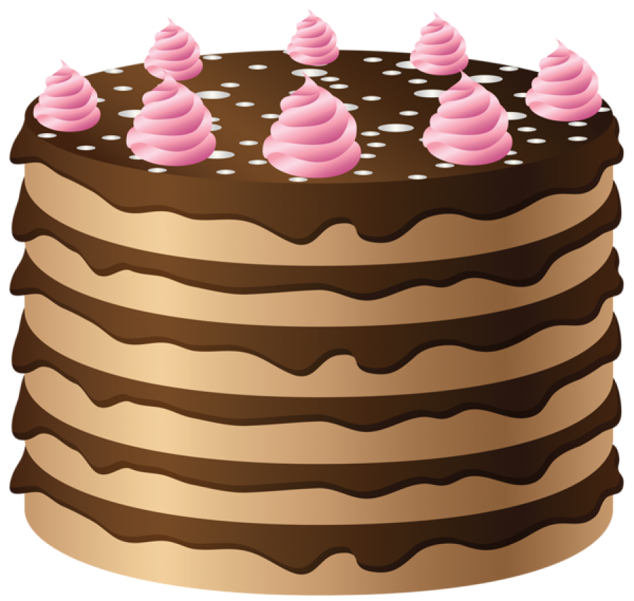 Layered Cake PNG Image
