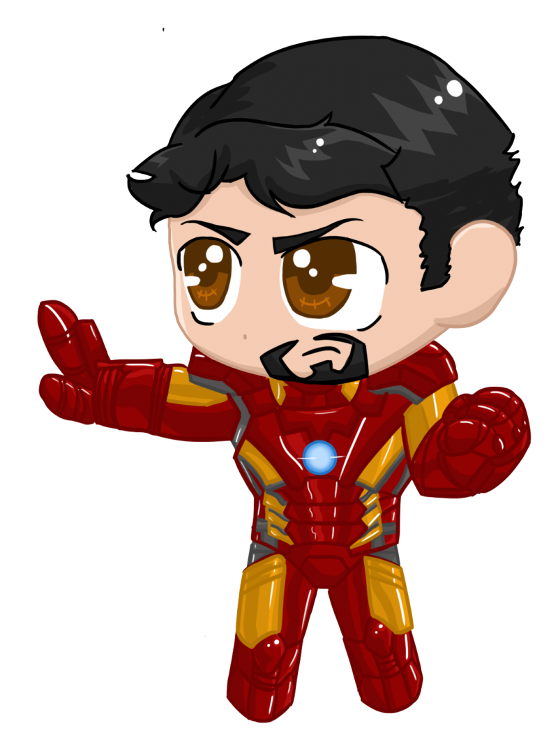Little Iron Man PNG Image