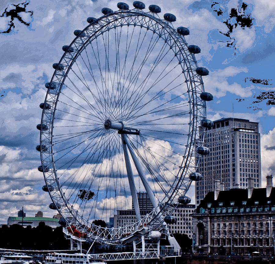 London Eye PNG Image