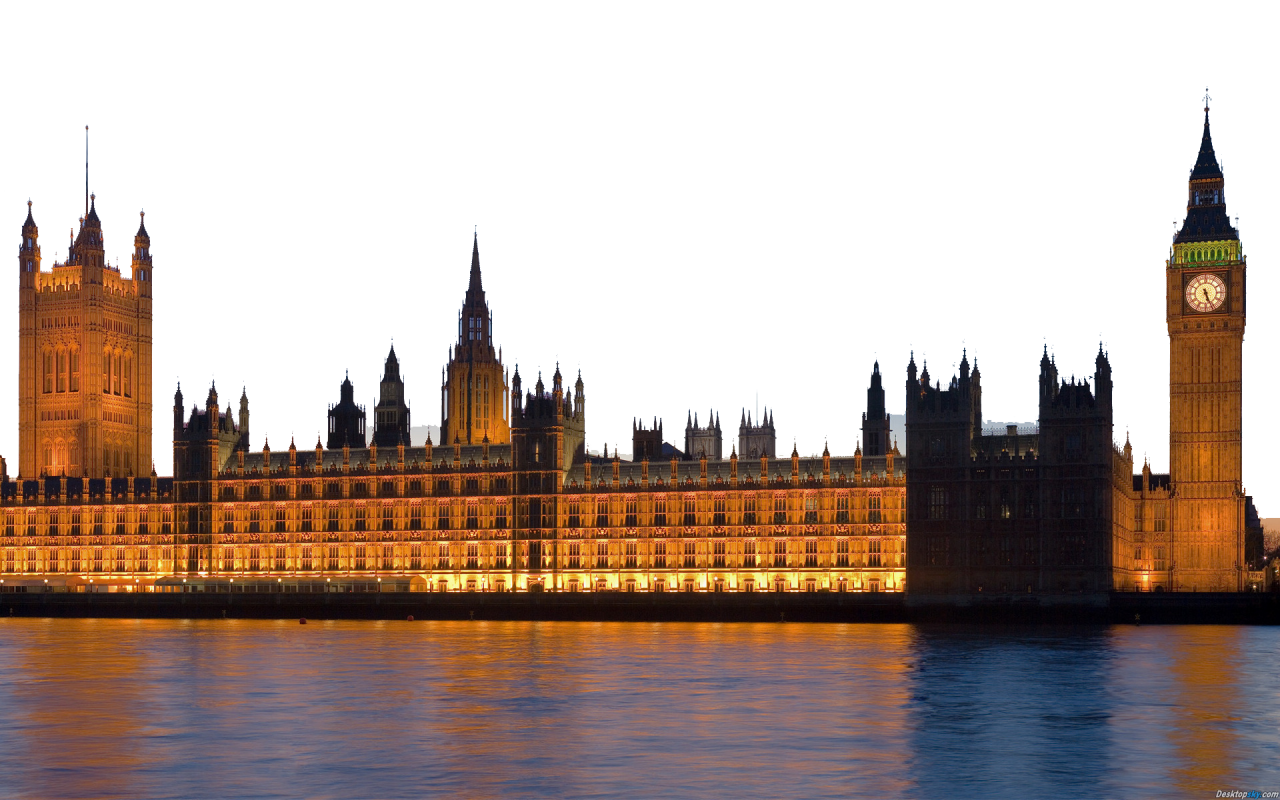 Westminster Palace - London PNG Image