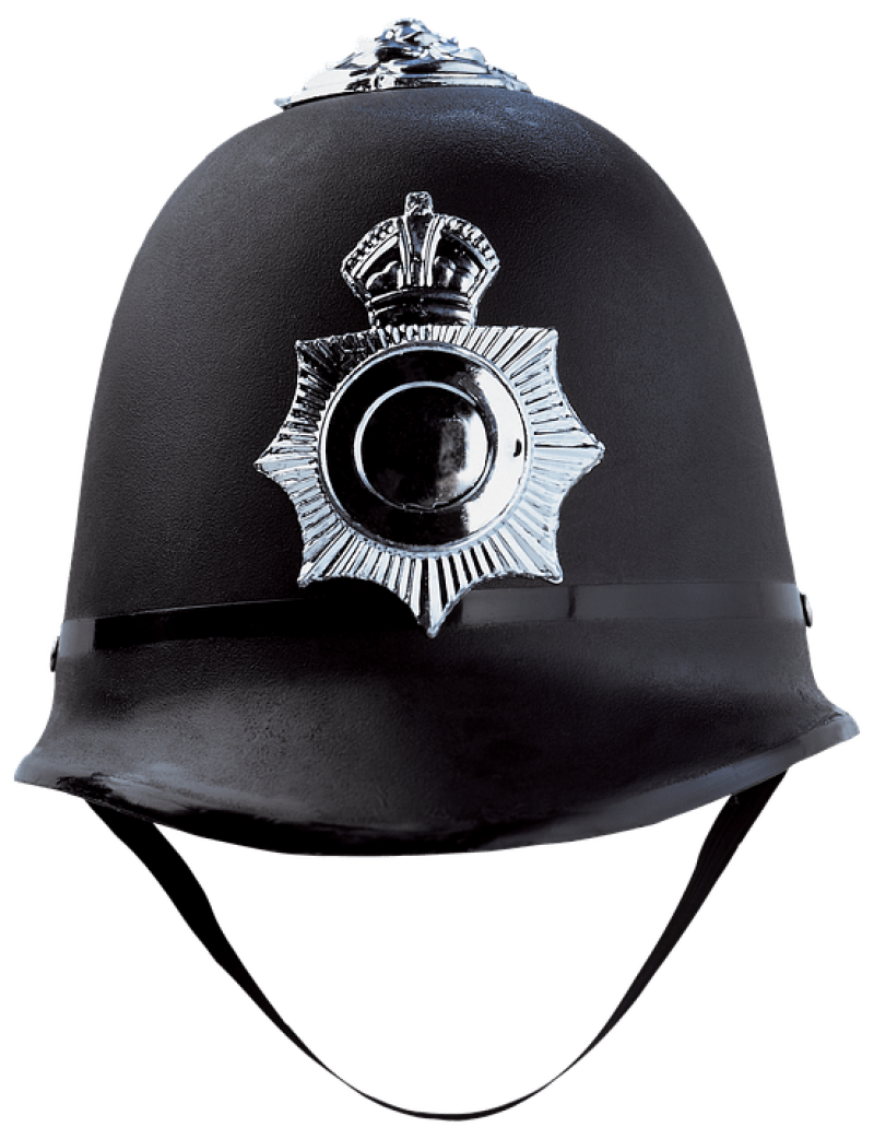 British Police Helmet PNG Image
