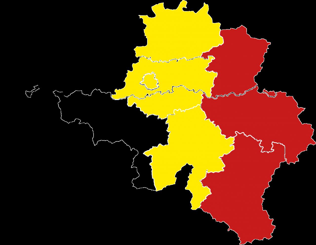 Map of Belgium - Flag of Belgium PNG Image
