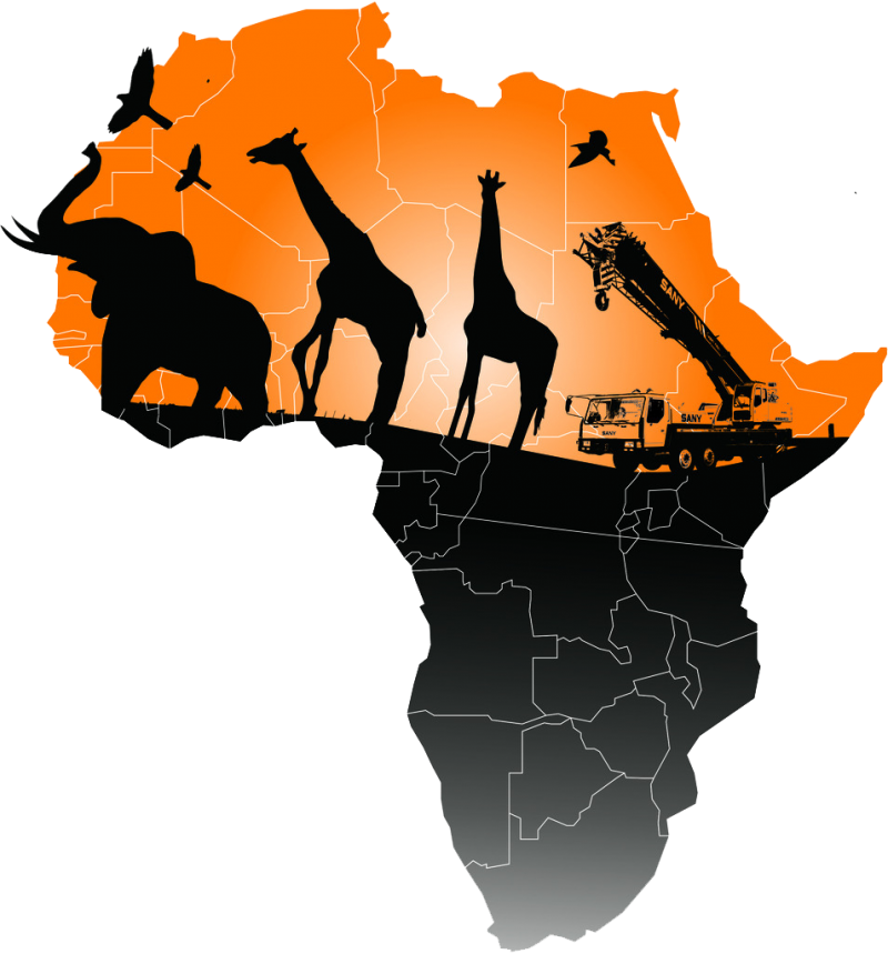 Map of Africa PNG Image