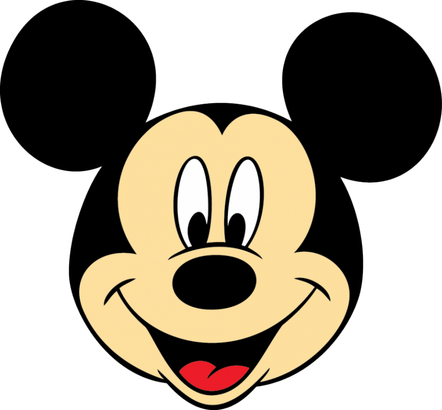 Mickey Mouse Face PNG Image