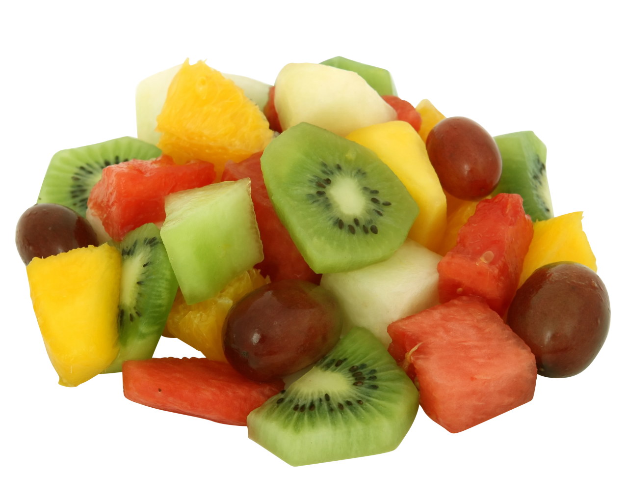 Mixed Color Fruits PNG Image