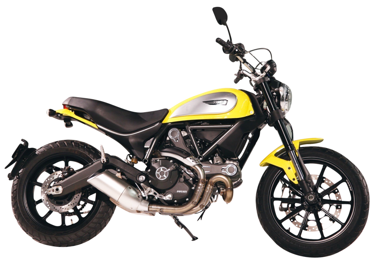 Motorcycle PNG Image
