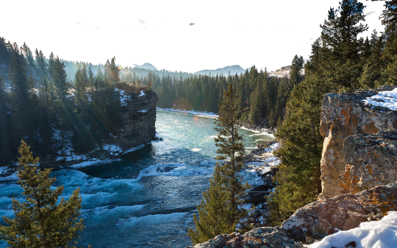 River by Untouched Nature PNG Image