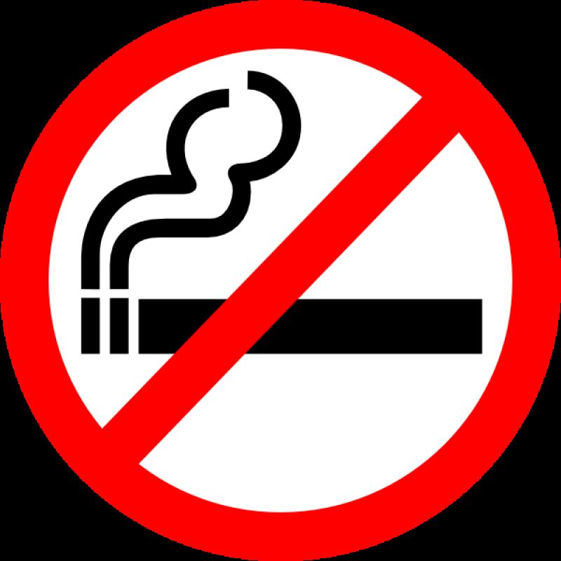 No Smoke Symbol PNG Image
