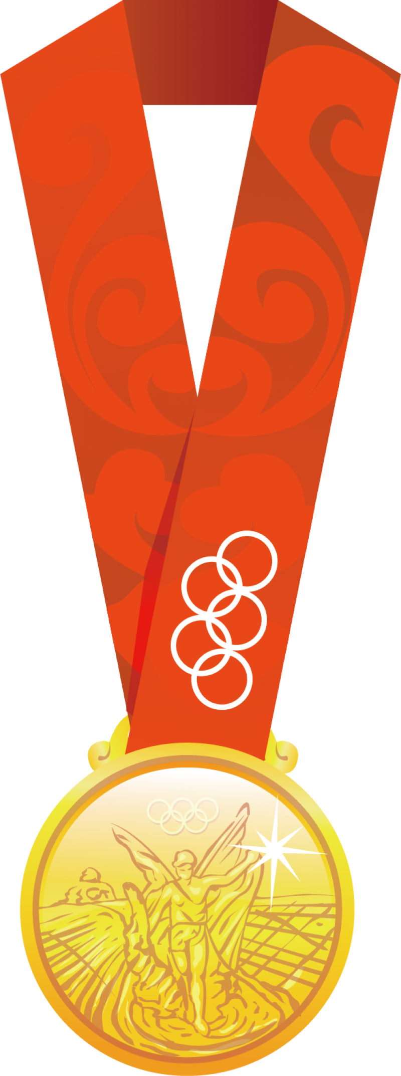 Olympic Gold Medal PNG Image