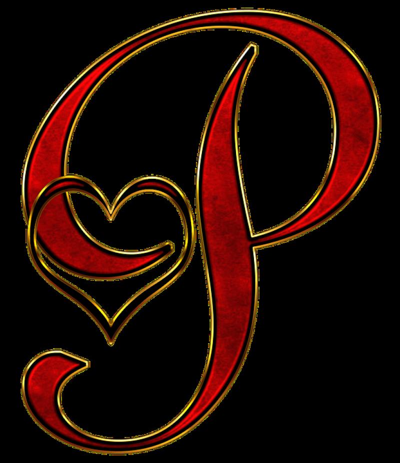 P Alphabet PNG Image