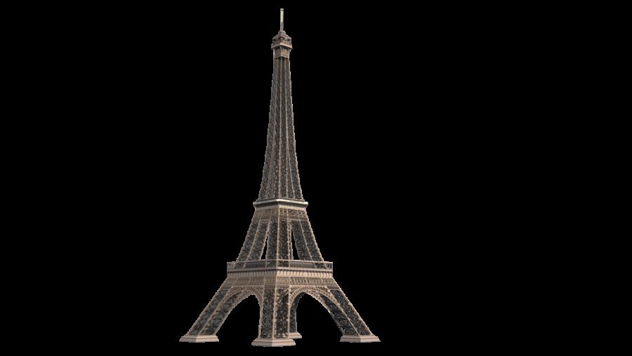 Eiffel Tower - Paris PNG Image