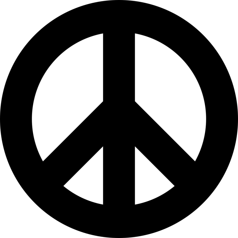 Peace Sign PNG Image
