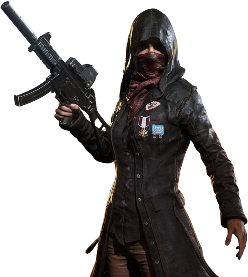 Playerunknown's Battlegrounds female agent(pubg) PNG Image