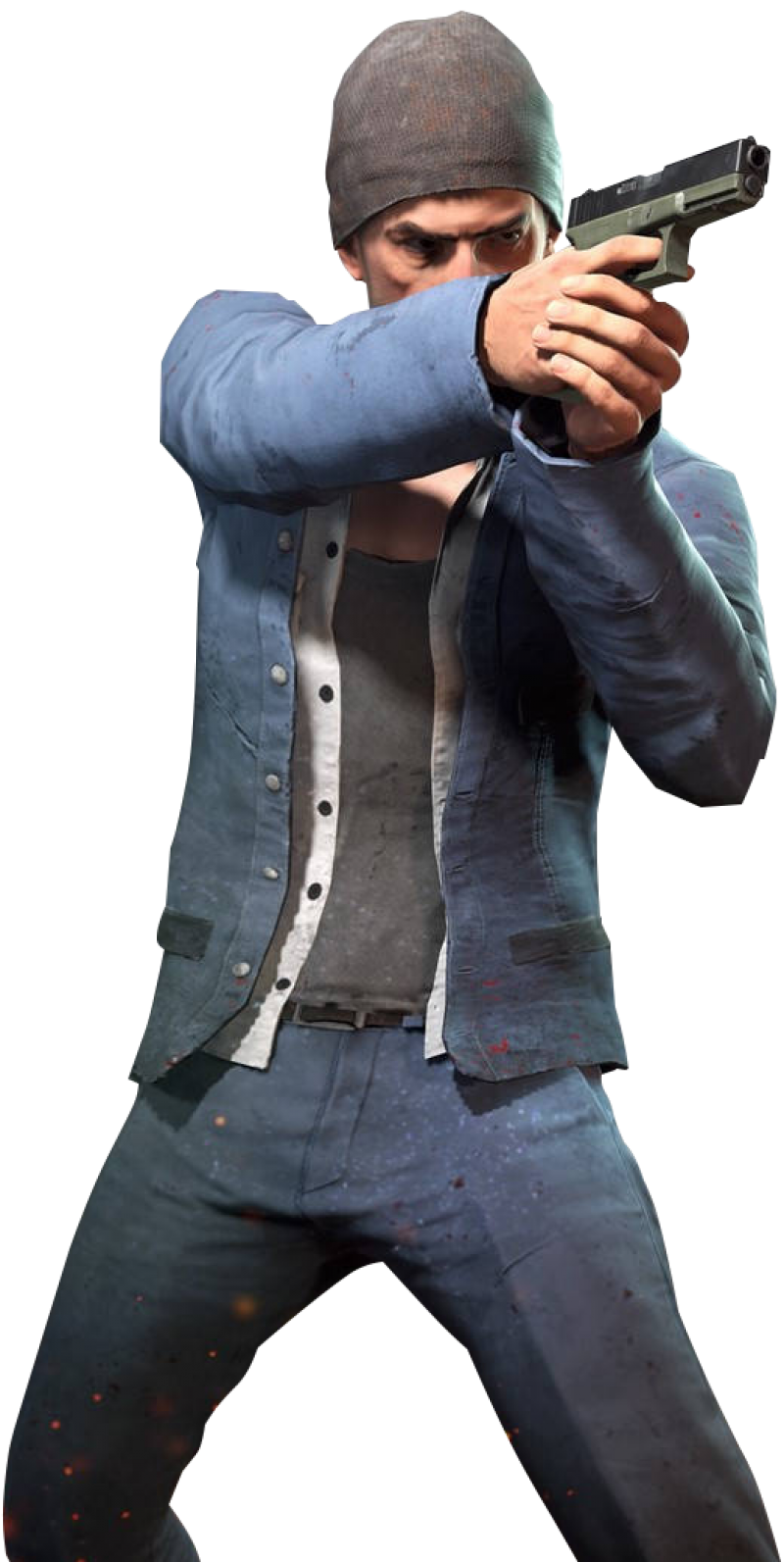 Playerunknown S Battlegrounds Man With Gun Pubg Png Image