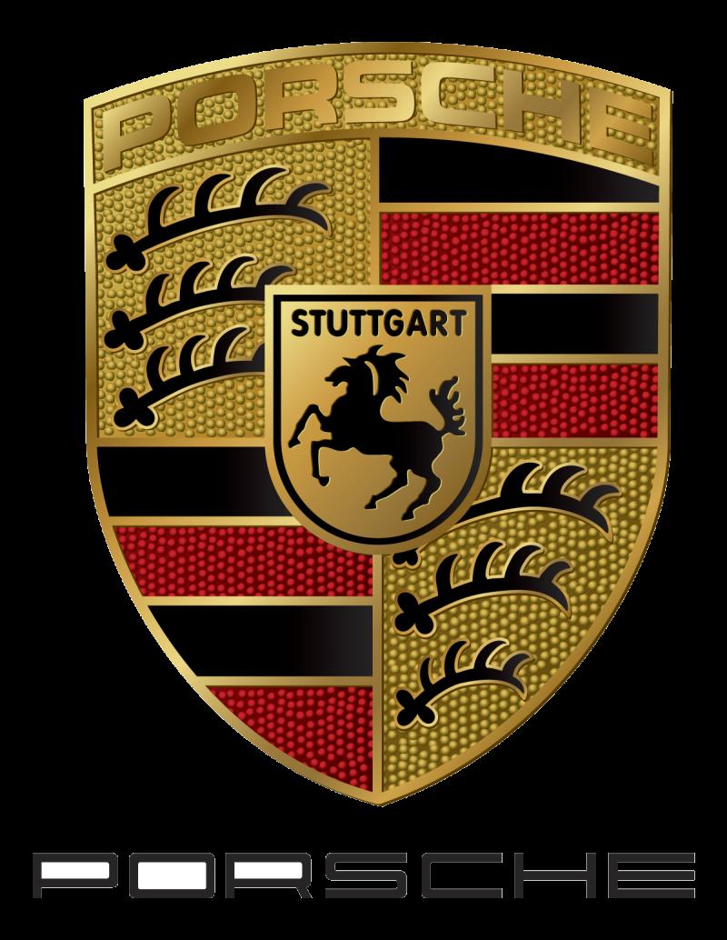 Porsche Logo Transparent Background PNG Image