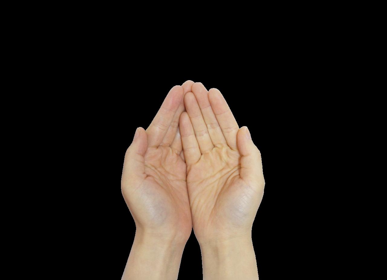 Praying Hands PNG Image