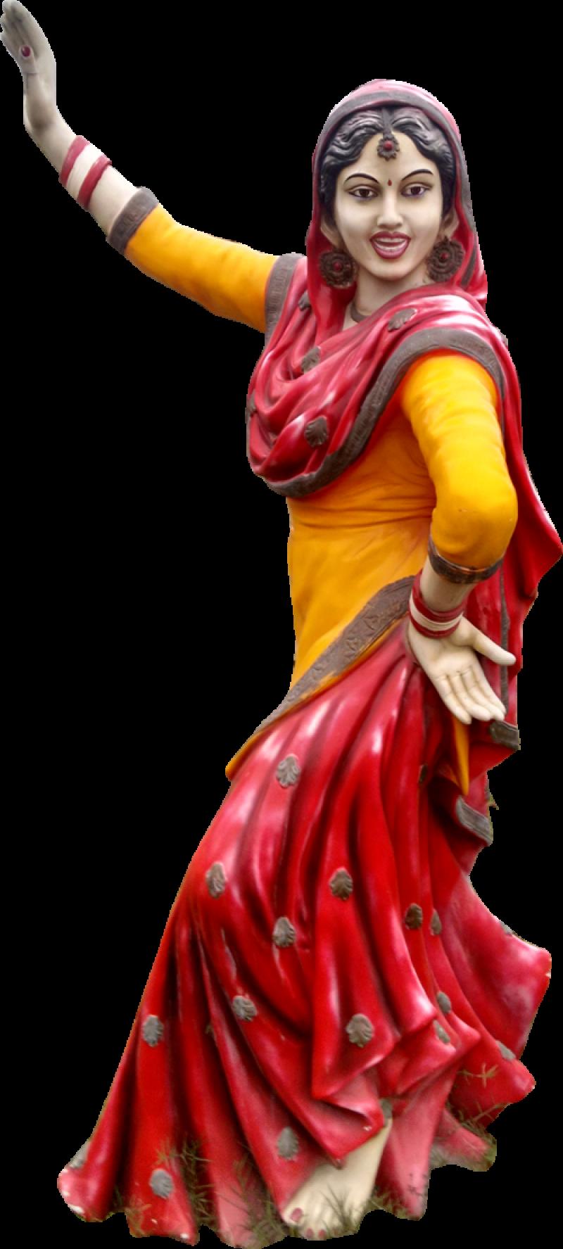 Punjab Gidha Statue Chandigarh Mohali Panchukula PNG Image