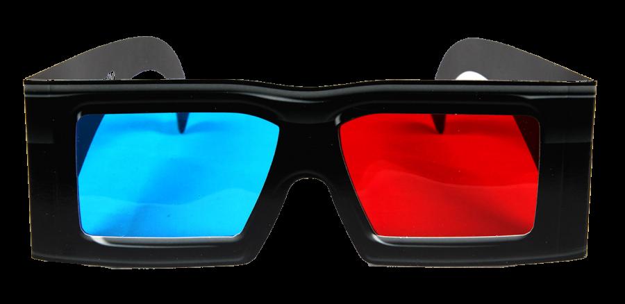 3D Glasses PNG Image