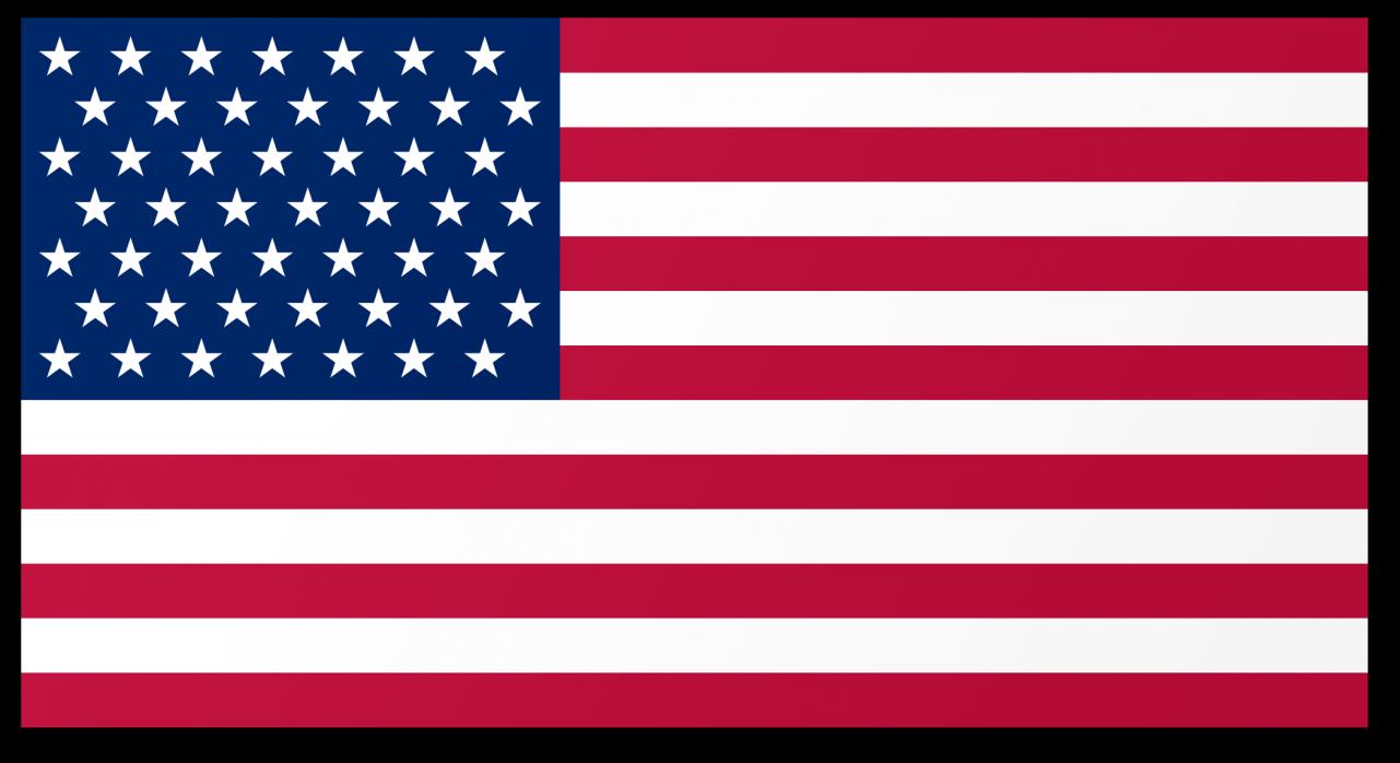 American Flag PNG Image