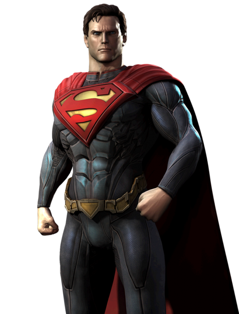 Angry Super Man PNG Image