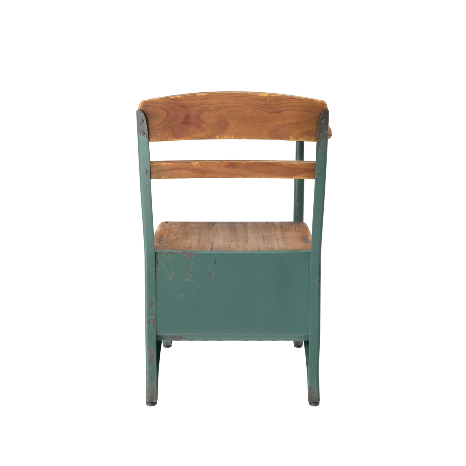 Antique School Desk PNG Image
