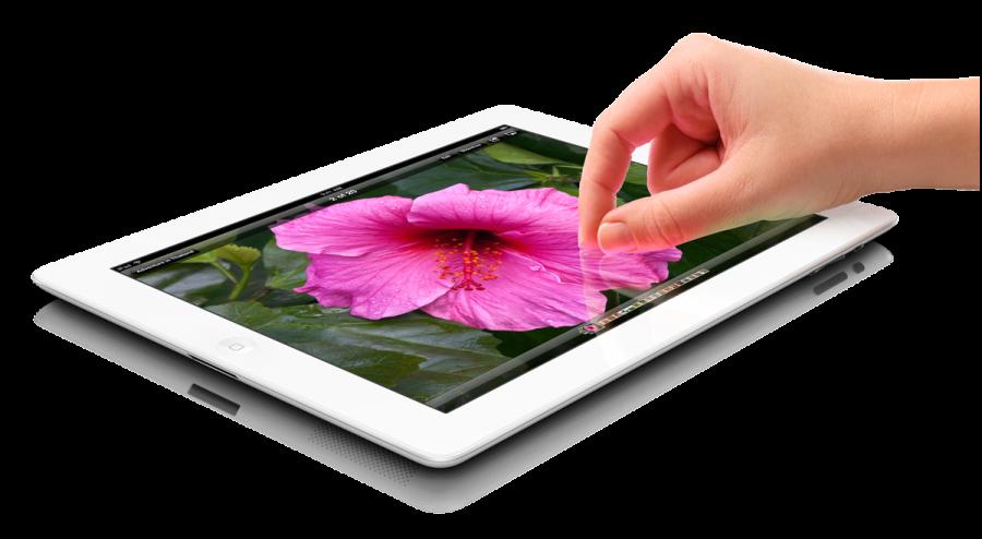 Apple Tablet PNG Image