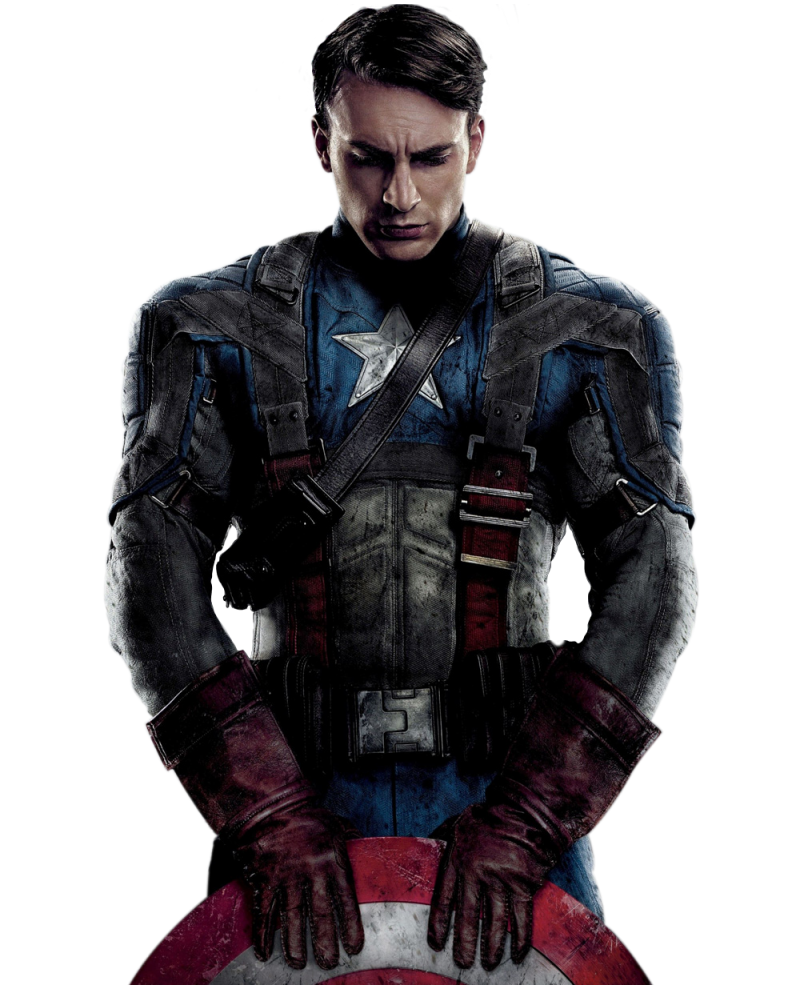 Avengers Captain America PNG Image
