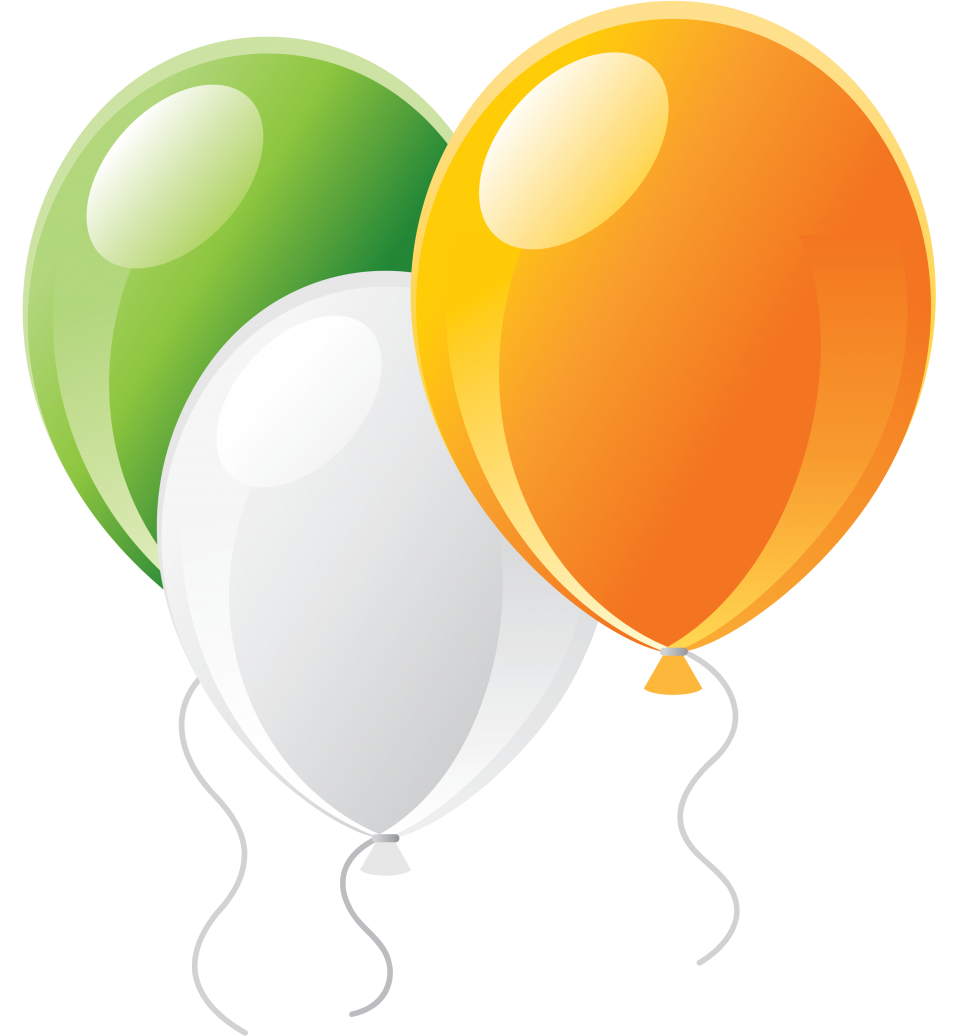 Colorful Balloons PNG Image